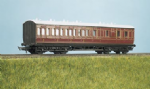 714 Ratio: / Parkside PC714 COACH KITS  MR Suburban, Brake 3rd, 4 Compartment